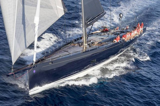 Baltic 130 My Song sailing yacht