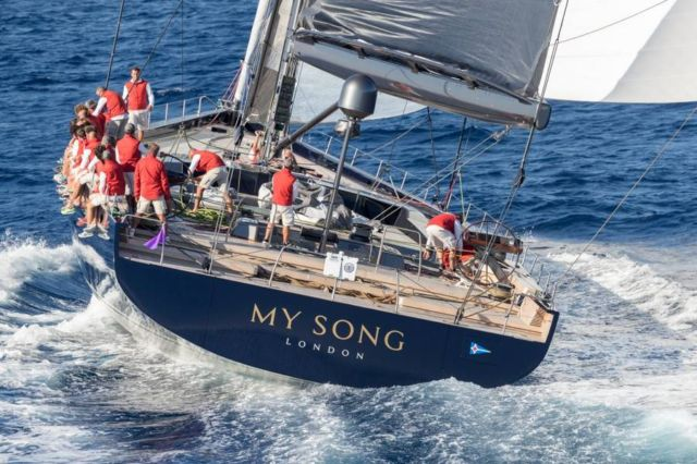 Baltic 130 My Song sailing yacht (9)