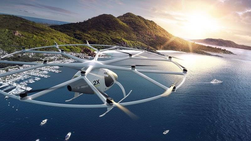 Daimler invests in flying taxi firm Volocopter (4)