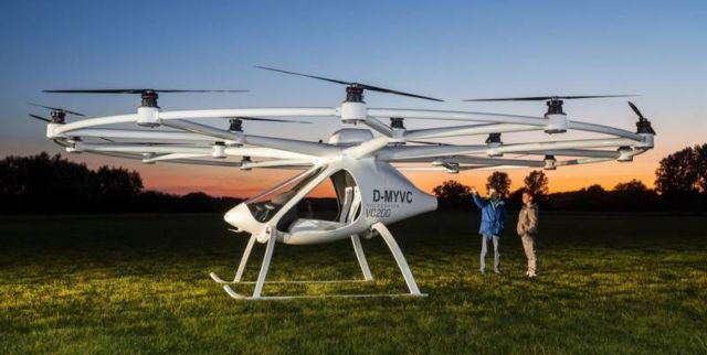Daimler invests in flying taxi firm Volocopter (3)
