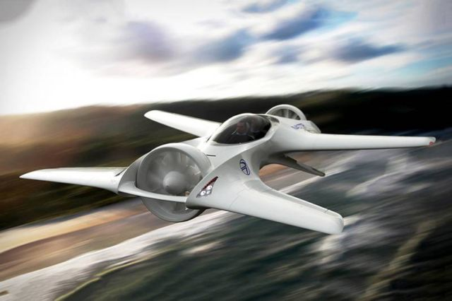 DeLorean Aerospace Flying Car