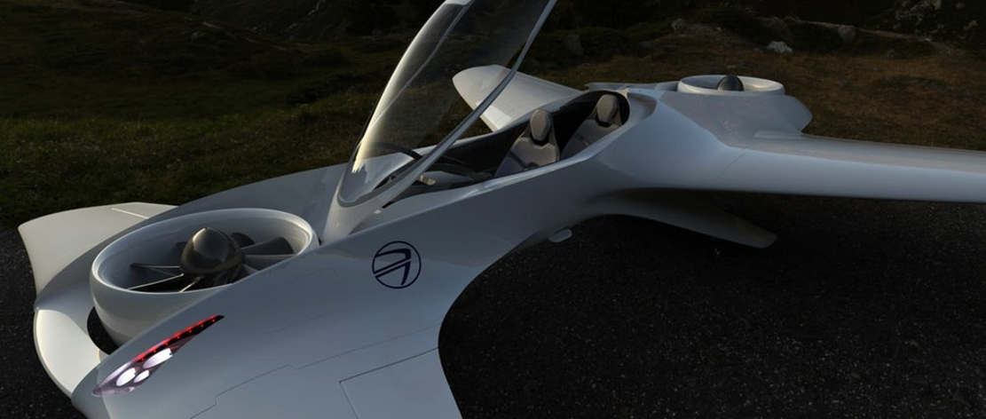 DeLorean Aerospace Flying Car (1)