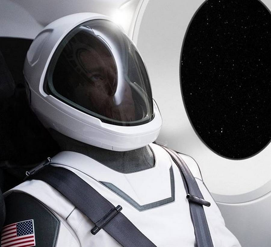 Elon Musk reveals new SpaceX Spacesuit