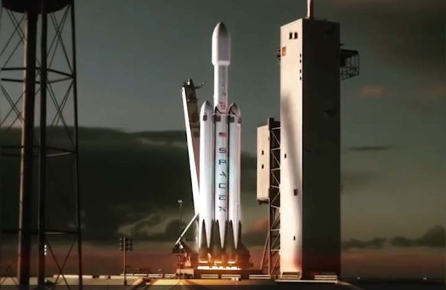 First Animation of world's most Powerful Rocket