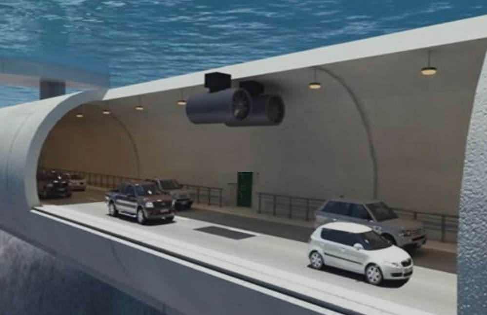Floating Underwater Tunnel in Norway