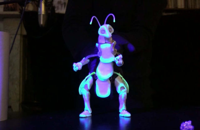 Glowing Bug Puppet
