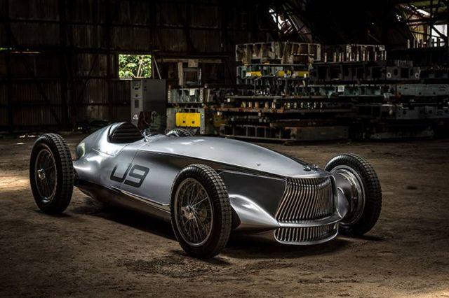 Infiniti Prototype 9 EV Grand Prix car
