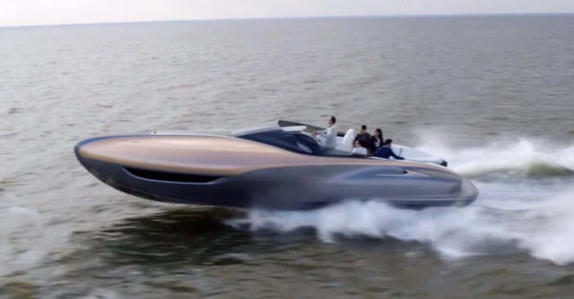 Lexus Can sport yacht concept