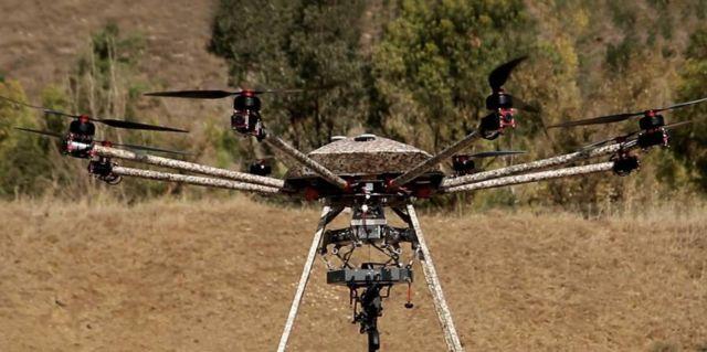 Machine gun Drone (3)
