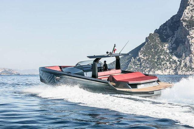Maori 54 Yacht custom speedboat