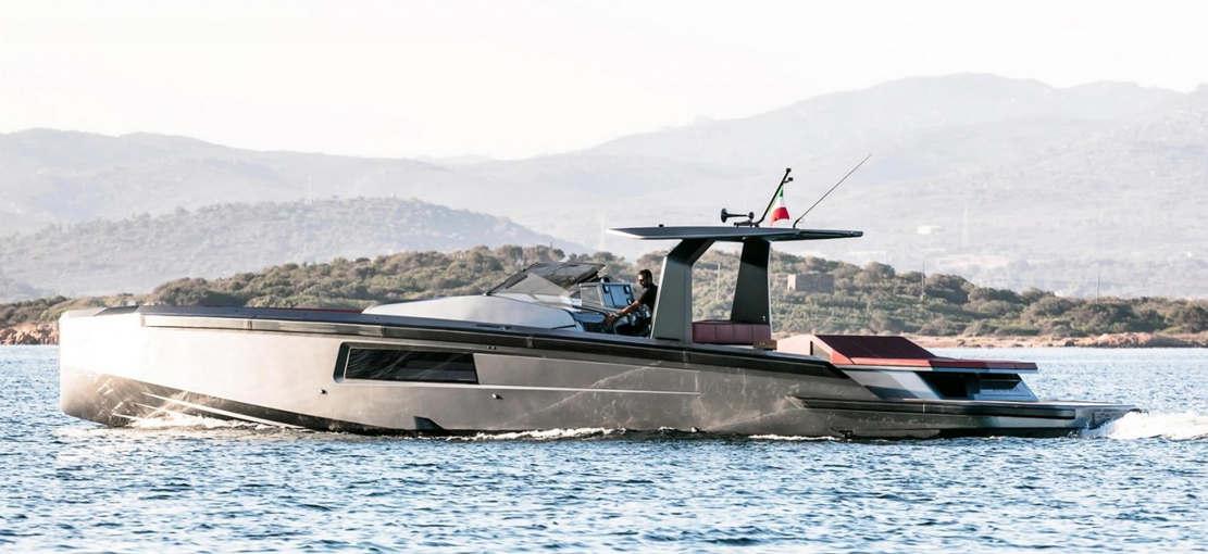 Maori 54' Yacht custom speedboat (1)