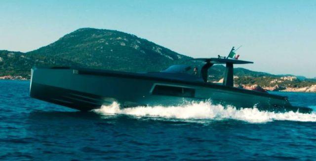 Maori 54' Yacht custom speedboat (7)