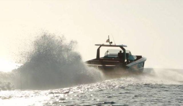 Maori 54' Yacht custom speedboat (5)