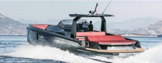 Maori 54' Yacht custom speedboat (2)