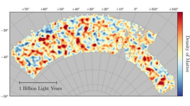 Most accurate measurement of Dark Matter structure