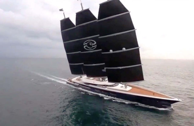 Oceanco 106m Black Pearl