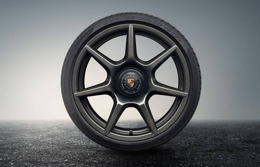 Porsche Braided Carbon Fibre Wheels (10)