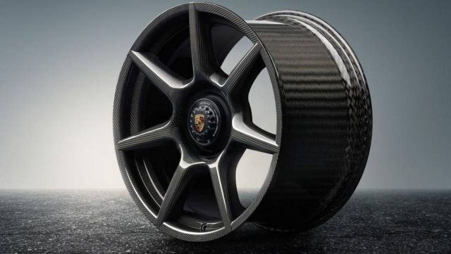 Porsche Braided Carbon Fibre Wheels (9)