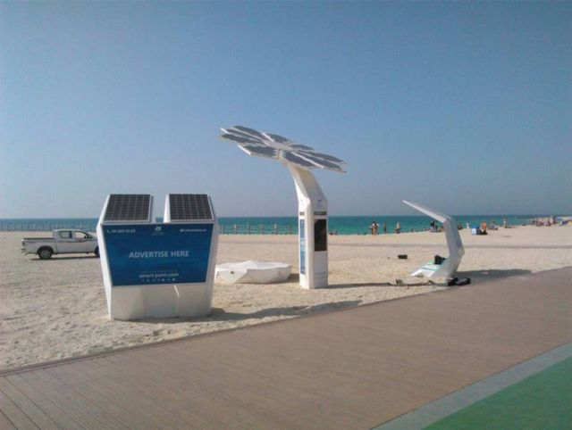 Solar Powered smart palm trees (2)