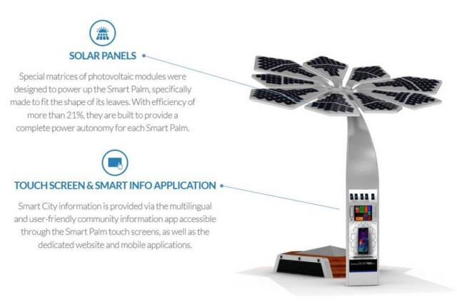 Solar Powered smart palm trees (1)