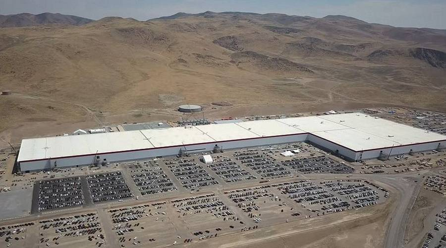 Tesla Gigafactory new aerial shots