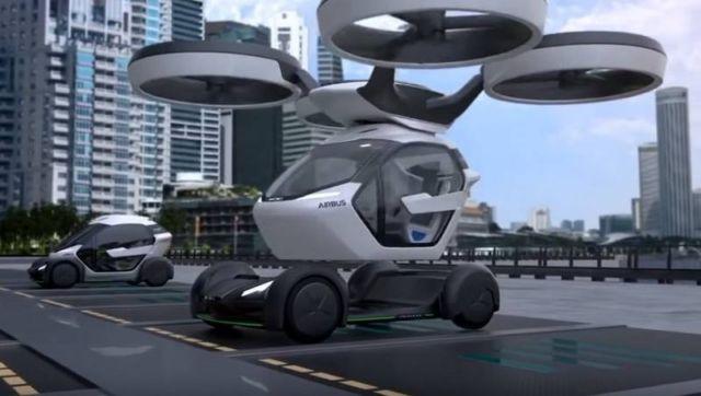 The Airbus Drone - Car