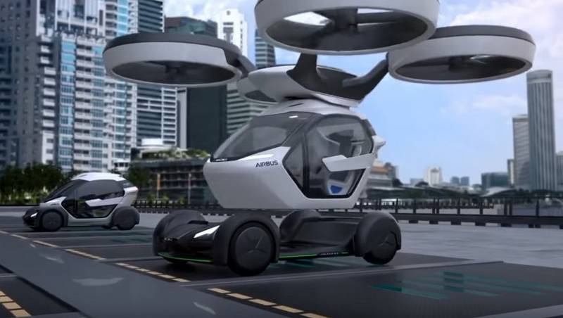 The Airbus Drone - Car