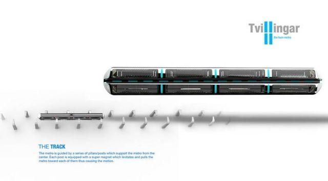 Twillingar twin Metro Train (6)
