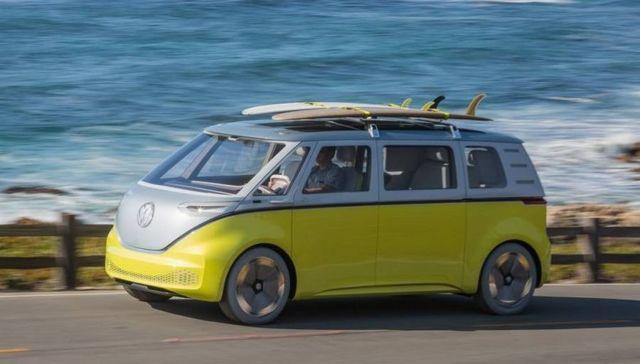 Volkswagen I.D. Buzz autonomous electric Kombi van