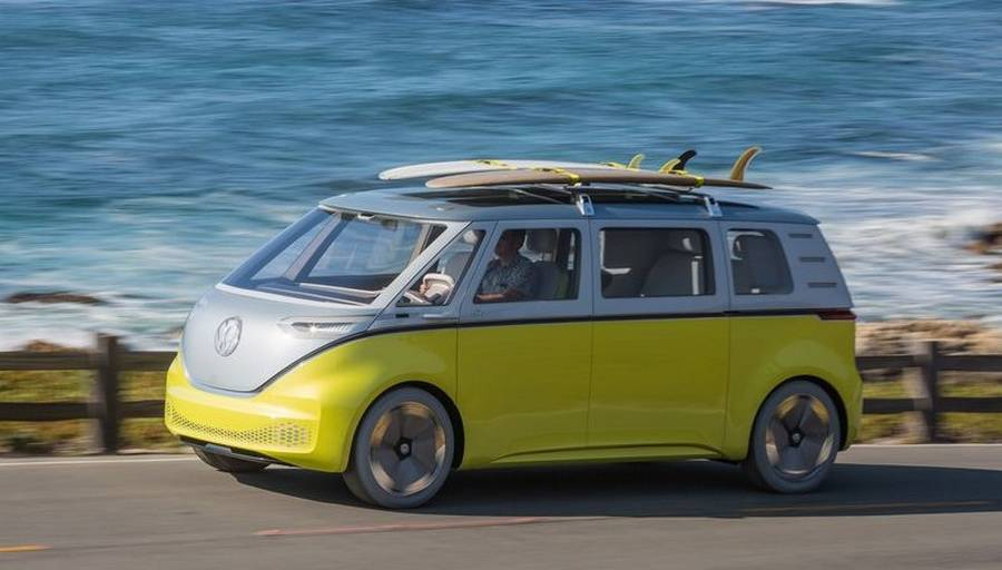 Wordlesstech Volkswagen I D Buzz Autonomous Electric