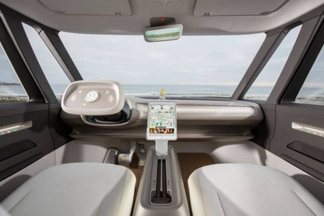 Volkswagen I.D. Buzz autonomous electric Kombi van (7)