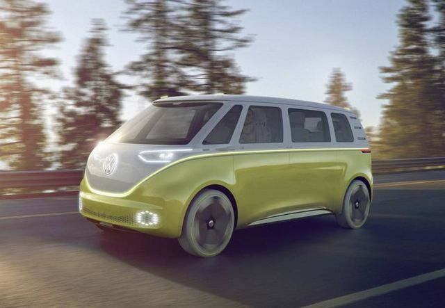 Volkswagen I.D. Buzz autonomous electric Kombi van (6)