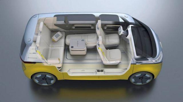 Volkswagen I.D. Buzz autonomous electric Kombi van (4)