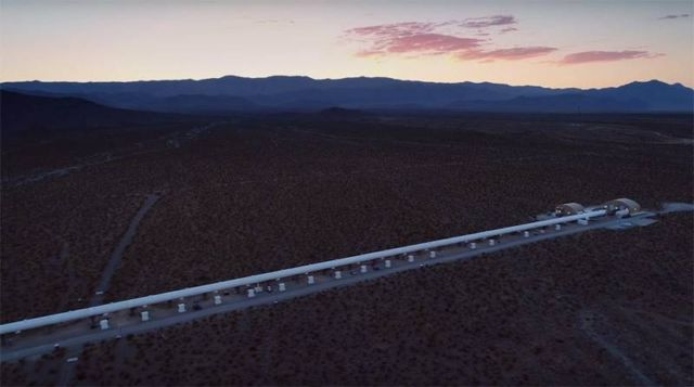 Watch Hyperloop One Pod hit 192 mph