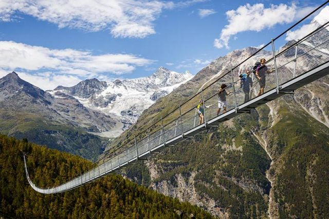 World's longest Pedestrian Suspension Bridge