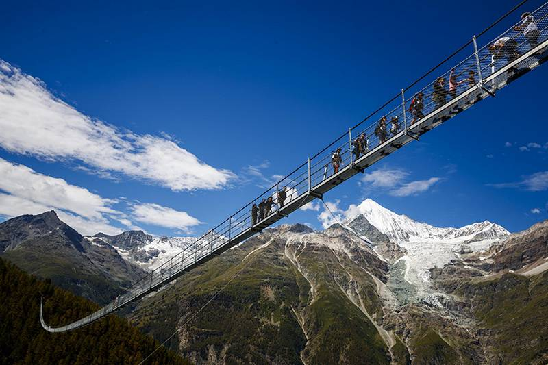 World's longest Pedestrian Suspension Bridge (2)