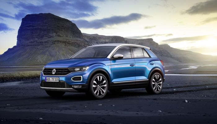World premiere of the new VW T-Roc