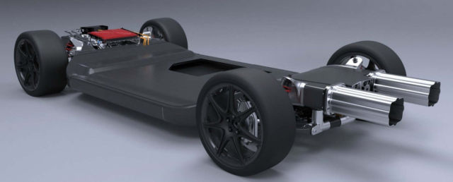 A new Lightweight Electric Car Platform