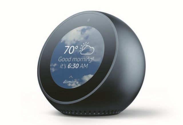 Amazon Echo Spot speaker