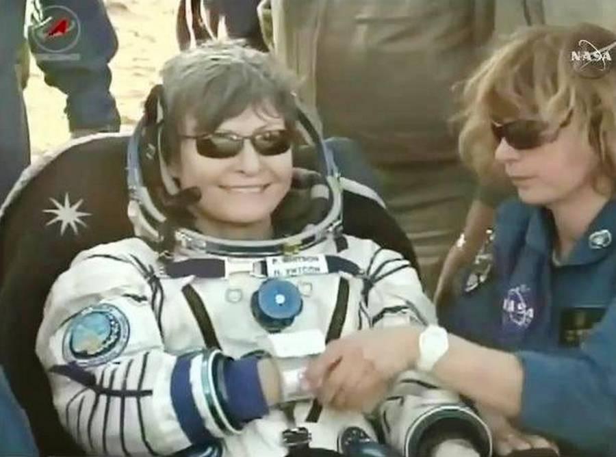 longest female astronaut in space - photo #7