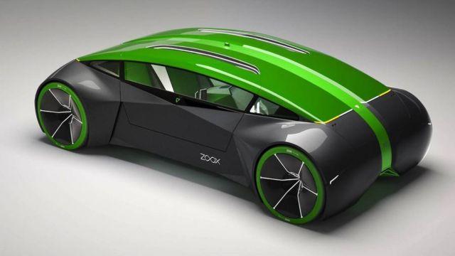Zoox autonomous car