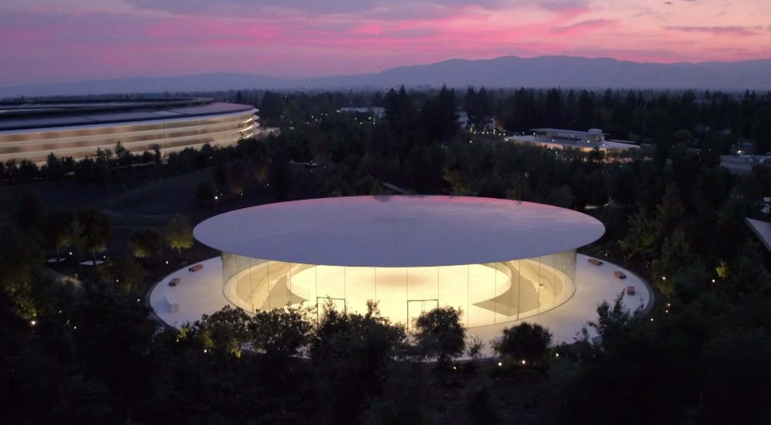 Apple Event 2017 into Steve Jobs Theater (1)