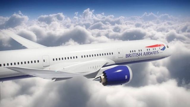 British Airways' 787 Dreamliner