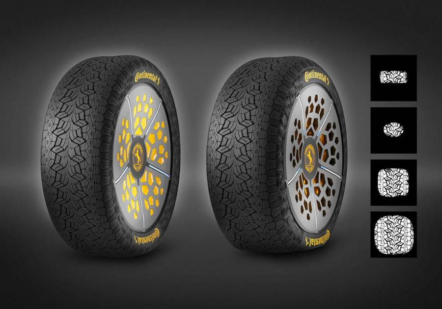 Continental's two new Tire technology concepts