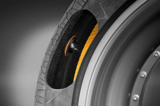 Continental's new Tire technology concept