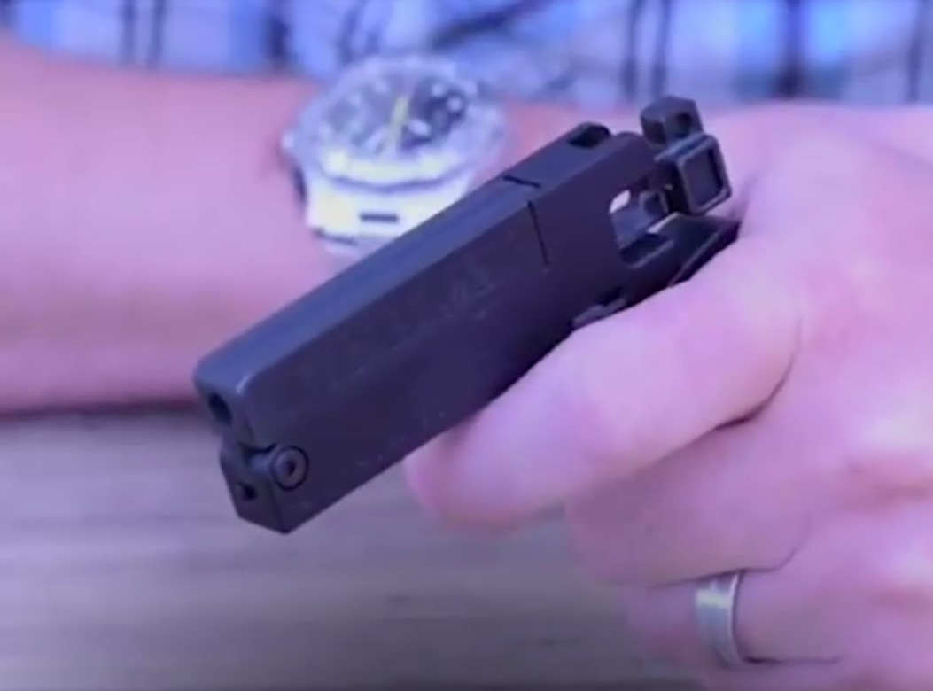 Credit Card sized folding Firearm