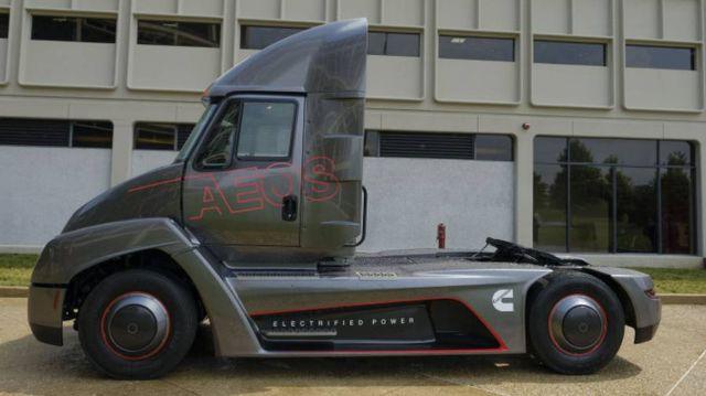 Cummins fully electric heavy-duty truck