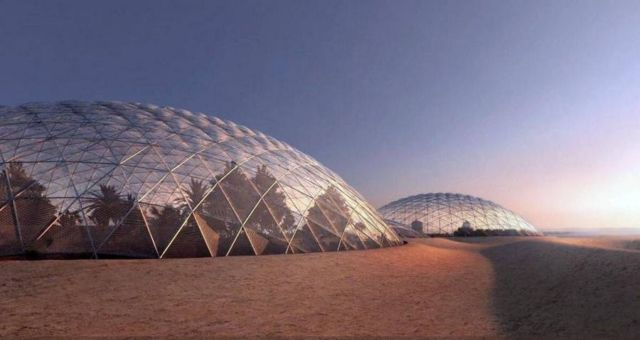 Dubai is building a giant Mars city simulation