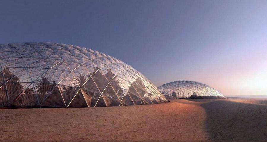Dubai is building a giant Mars city simulation (5)