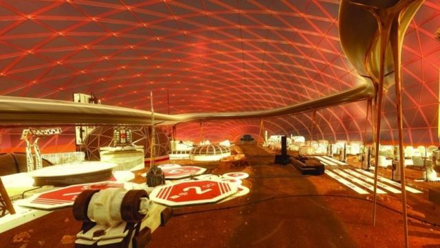 Dubai is building a giant Mars city simulation (4)
